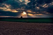 Wolke vs. Sonne