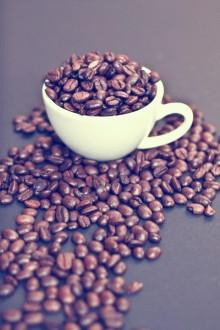 Voll mit Kaffee